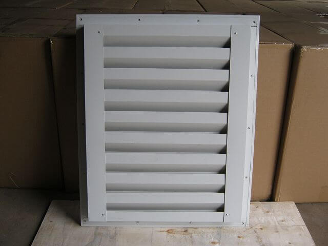 Shutter made by steel