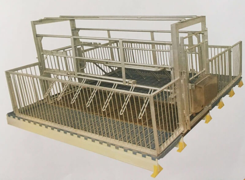 Farrowing crates